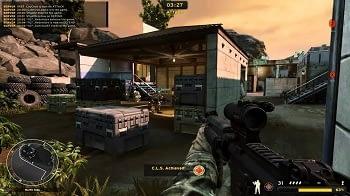 America's Army 3 Server im Vergleich.